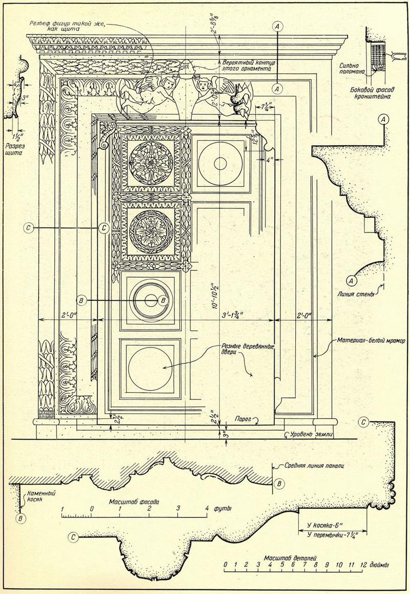 Лукка дворец арчивесковиле двери и