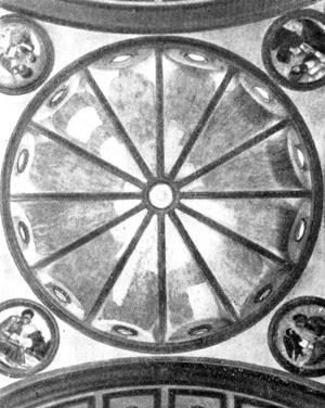 Архитектура эпохи Возрождения в Италии: Флоренция. Капелла Пацци. Купол