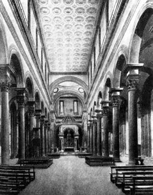 Архитектура эпохи Возрождения в Италии: Флоренция. Церковь Сан Спирито