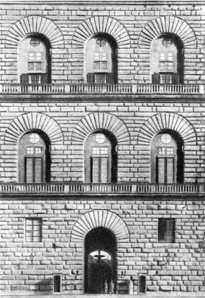 Архитектура эпохи Возрождения в Италии: Флоренция. Палаццо Пацци