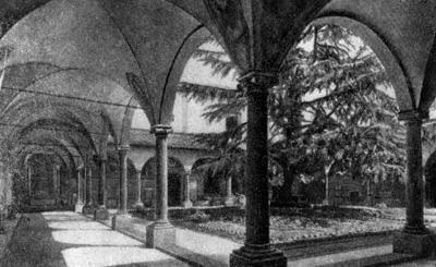 Архитектура эпохи Возрождения в Италии: Монастырь Сан Марко, двор монастыря. Микелоццо