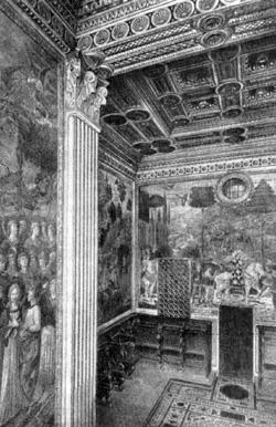 Архитектура эпохи Возрождения в Италии: Флоренция. Палаццо Медичи-Риккарди. Капелла