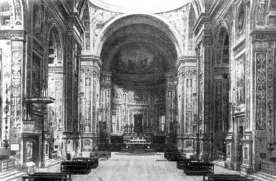 Архитектура эпохи Возрождения в Италии: Мантуя. Церковь Сант Андреа