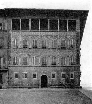 Архитектура эпохи Возрождения в Италии: Флоренция. Палаццо Гваданьи