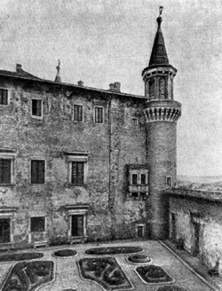 Архитектура эпохи Возрождения в Италии: Урбино. Палаццо Дукале. Висячий сад