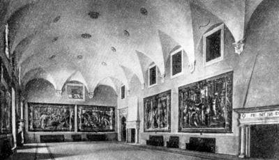 Архитектура эпохи Возрождения в Италии: Урбино. Палаццо Дукале. Тронный зал