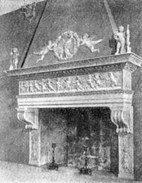 Архитектура эпохи Возрождения в Италии: Урбино. Палаццо Дукале. Камин
