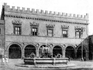 Архитектура эпохи Возрождения в Италии: Пезаро. Палаццо Префеттицио. Лучано да Лаурана