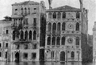 Архитектура эпохи Возрождения в Италии: Венеция. Палаццо Дарио, с 1487 г.