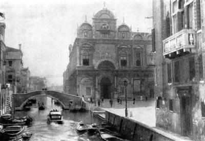 Архитектура эпохи Возрождения в Италии: Венеция. Скуола Сан Марко, 1485—1495 гг. Пьетро Ломбардо и Моро Кодуччи