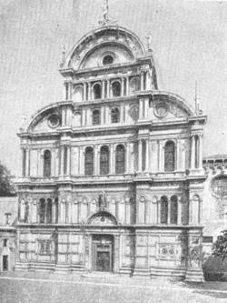 Архитектура эпохи Возрождения в Италии: Венеция. Церковь Сан Дзаккария