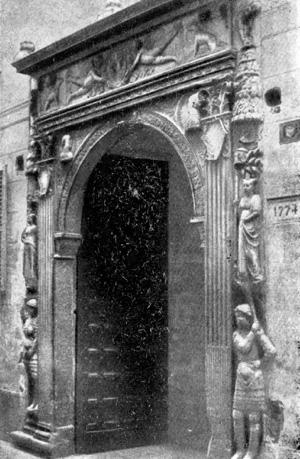 Архитектура эпохи Возрождения в Италии: Милан. Банк Медичи. Портал