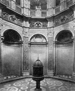Архитектура эпохи Возрождения в Италии: Милан. Церковь Санта Мария прессо Сан Сатиро. Интерьер