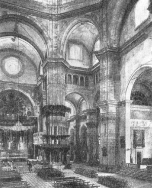 Архитектура эпохи Возрождения в Италии: Павия. Собор, с 1487 г. Браманте, Амадео и др. Интерьер