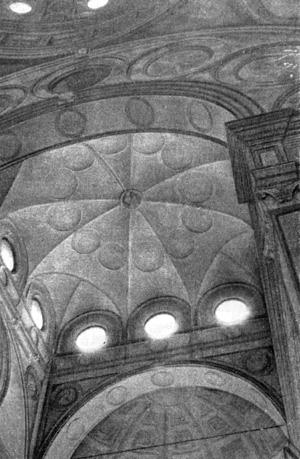 Архитектура эпохи Возрождения в Италии: Милан. Церковь Санта Мария делле Грацие.Зонтичный купол над хором