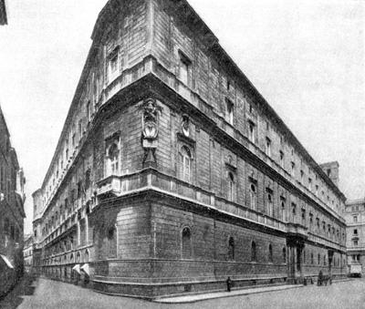 Архитектура эпохи Возрождения в Италии: 3. Рим. Палаццо Канчеллерия