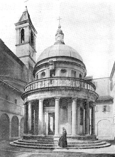 Архитектура эпохи Возрождения в Италии: Рим. Темпьетто