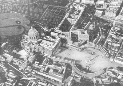 Архитектура эпохи Возрождения в Италии: Рим. Ансамбль собора св. Петра в Ватикане