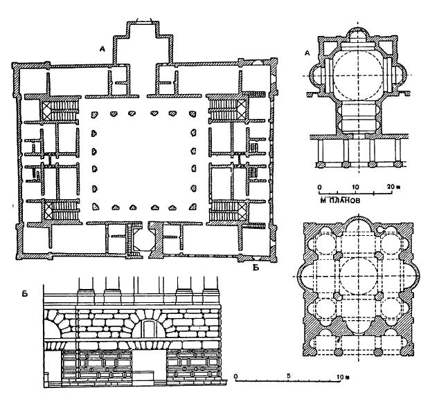 Архитектура эпохи Возрождения в Италии: Рим. Дворец папского трибунала, 1510 г., Браманте