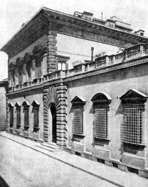 Архитектура эпохи Возрождения в Италии: Флоренция. Палаццо Пандольфини. Рафаэль