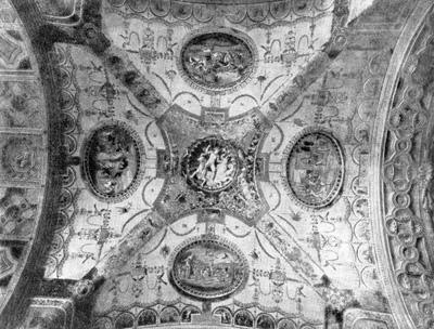 Архитектура эпохи Возрождения в Италии: Рим. Вилла Мадама. Роспись свода