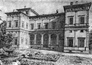 Архитектура эпохи Возрождения в Италии: Рим. Вилла Фарнезина, с 1509 г. Перуцци