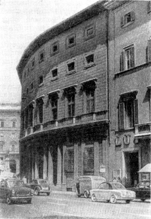 Архитектура эпохи Возрождения в Италии: Рим. Палаццо Массими
