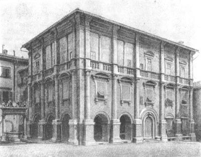 Архитектура эпохи Возрождения в Италии: Монтепульчано. Палаццо Таруджи (или Нобиле)