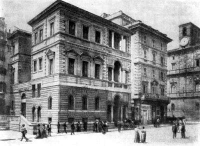 Архитектура эпохи Возрождения в Италии: Рим. Палаццо Линотта