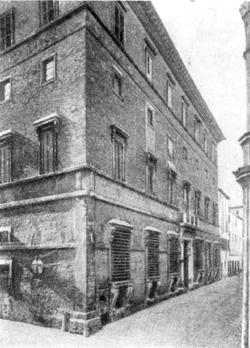 Архитектура эпохи Возрождения в Италии: Рим. Палаццо Саккетти. Антонио да Сангалло Младший