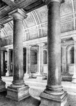 Архитектура эпохи Возрождения в Италии: Рим. Палаццо Фарнезе. Главный въезд