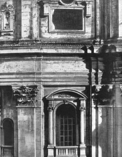 Архитектура эпохи Возрождения в Италии: Рим. Собор св. Петра. Фрагмент апсиды