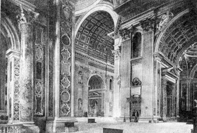 Архитектура эпохи Возрождения в Италии: Рим. Собор св. Петра