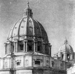 Архитектура эпохи Возрождения в Италии: Рим. Собор св. Петра. Купол