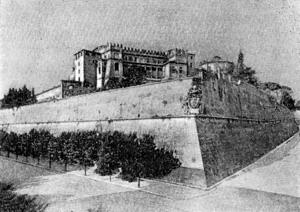 Архитектура эпохи Возрождения в Италии: Рим. Укрепления Борго, Бастион Бельведера. Микеланджело