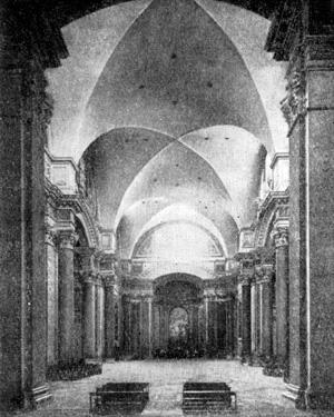 Архитектура эпохи Возрождения в Италии: Рим. Церковь Санта Мария деи Анджел и алле Терме. Микеланджело