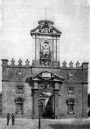 Архитектура эпохи Возрождения в Италии: Рим. Порта Пиа, с 1561 г. Микеланджело