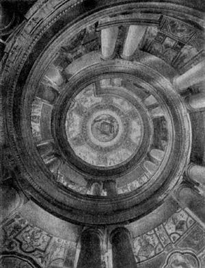 Архитектура эпохи Возрождения в Италии: Капрарола. Замок Фарнезе. Винтовая лестница