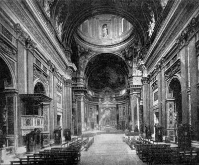 Архитектура эпохи Возрождения в Италии: Рим. Церковь Иль Джезу, 1568-1584 гг. Виньола, Джакомо делла Порта
