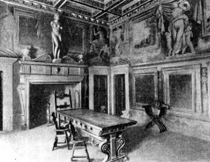 Архитектура эпохи Возрождения в Италии: Ареццо. Дом Вазари, 1542 г. Вазари. Интерьер