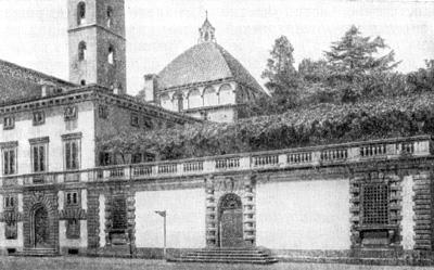 Архитектура эпохи Возрождения в Италии: Амманати. Лукка, палаццо Бернарди