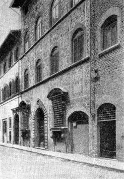 Архитектура эпохи Возрождения в Италии: Флоренция. Буонталенти. Дом Бьянки Капелло, 1567 г.