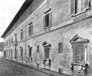 Архитектура эпохи Возрождения в Италии: Флоренция. Буонталенти. Казино Медичео, 1574 г.