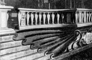 Архитектура эпохи Возрождения в Италии: Флоренция. Буонталенти. Кафедра хора в церкви Санта Тринита (ныне в церкви Сан Стефано)