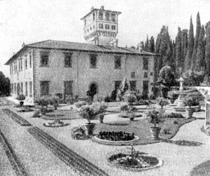 Архитектура эпохи Возрождения в Италии: Флоренция. Вилла Петрайя, 1575—1589 гг. Буонталенти