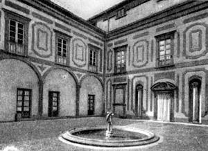 Архитектура эпохи Возрождения в Италии: Тиццано. Вилла делла Маджа, 1580 г. Буонталенти