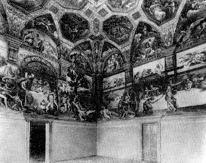 Архитектура эпохи Возрождения в Италии: Мантуя. Палаццо дель Те, 1526—1534 гг. Джулио Романо.Зал
