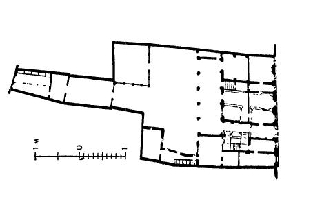 Архитектура эпохи Возрождения в Италии: Мантуя. Собственный дом Джулио Романо, около 1544 г. План