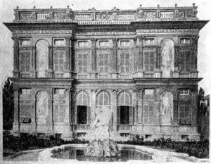 Архитектура эпохи Возрождения в Италии: Генуя. Вилла Паллавичини делле Пескьере, около 1560 г. Алесси
