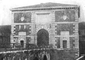 Архитектура эпохи Возрождения в Италии: Верона. Порта Сан Дзено. Микеле Санмикели